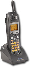 Panasonic - 58GHz Expandable Cordless Phone