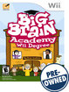 Big Brain Academy: Wii Degree - PRE-OWNED - Nintendo Wii