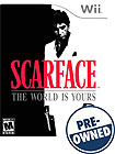 Scarface: The World is Yours - PRE-OWNED - Nintendo Wii