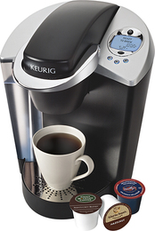Keurig - Special Edition Brewing System - Black/Brushed Silver