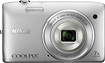 Nikon - Coolpix S3500 20.1-Megapixel Digital Camera - Silver