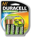 Buy Duracell Precharge Rechargeable AA NiMH Batteries (4-Pack)
