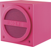 iHome - Mini Bluetooth Speaker Cube for Most Bluetooth-Enabled Devices - Pink