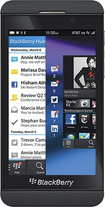 BlackBerry - Z10 4G LTE Mobile Phone - Black (AT&T)