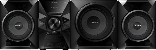 Sony - 700W Wireless Music System - Black