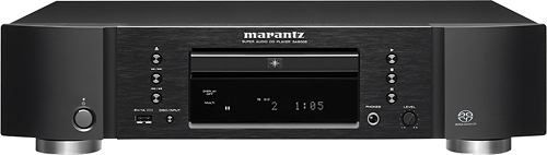 Marantz - Super Audio CD Player - Black