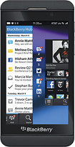 BlackBerry - Z10 4G LTE Mobile Phone - Black (Verizon Wireless)