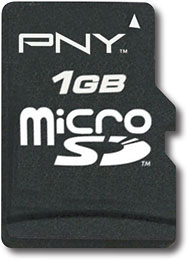 BestBuy - PNY - 1GB microSD Memory Card - $12.99