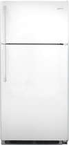 Frigidaire - 18.2 Cu. Ft. Top-Freezer Refrigerator - White