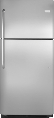 Frigidaire - 20.5 Cu. Ft. Top-Freezer Refrigerator - Stainless Steel (Silver)