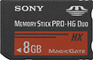 Sony - 8GB Memory Stick PRO Duo Memory Card