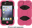 Griffin Technology - Survivor Case for Apple iPhone 4 and 4S - Pink/Black