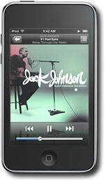 Apple® - iPod® touch 8GB* MP3 Player - Black - MB528LL/A