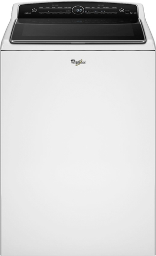 Whirlpool - Cabrio 5.3 Cu. Ft. 26-Cycle High-Efficiency Steam Top-Loading Washer - White