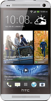 HTC - One Mobile Phone (Unlocked) - Silver