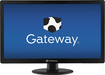 "Gateway - 21.5"" LCD HD Monitor - Black"