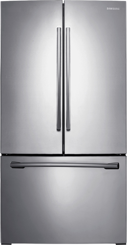Samsung - 25.5 Cu. Ft. French Door Refrigerator - Stainless Steel (Silver)