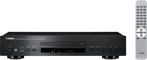 Yamaha - CD Player - Black