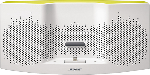 Bose® - SoundDock® XT Speaker - White/Yellow