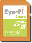 Eye-Fi Share 2GB Wireless Secure Digital Media Card