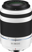Samsung - NX 50-200mm F4-56 ED OIS II Telephoto Zoom Lens for Samsung NX Digital Cameras - White