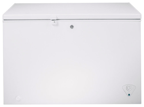 GE - 10.6 Cu. Ft. Chest Freezer - White