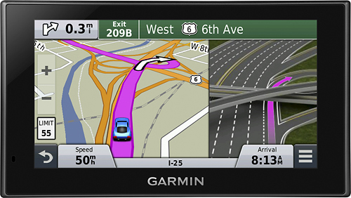 Garmin - nüvi 2639LMT 6 GPS with Lifetime Map Updates and Lifetime Traffic Updates - Black