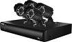 Lorex - VANTAGE 8-Channel, 4-Camera Indoor/Outdoor Security System