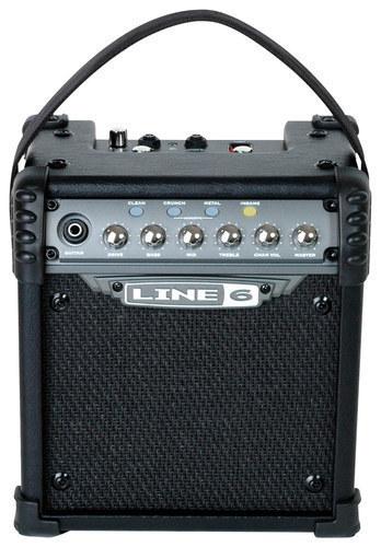 Line 6 - Spider IV Battery-Powered Guitar Amplifier - Black