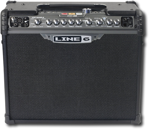 Line 6 - Spider Jam 75W Combo Amplifier - Black