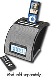 iHome - Alarm Clock for Apple iPod and Most MP3 Players - Black