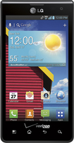 Verizon Wireless Prepaid - LG Optimus Exceed No-Contract Mobile Phone - Black