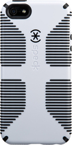 Speck - CandyShell Grip Case for Apple iPhone 5 - White/Black