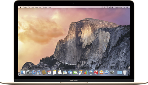 Apple - Geek Squad Certified Refurbished - 12 Display - Intel Core M - 8GB Memory - 256GB Flash Storage - Gold