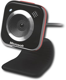 Microsoft - LifeCam VX-5000 - Red - VX-5000 :  mother microsoft tech red
