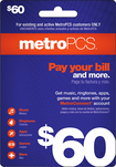 MetroPCS - $60 Pay Your Bill Wireless Card