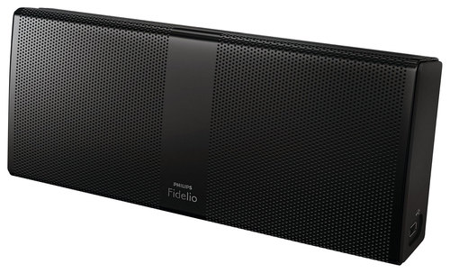 Philips - Fidelio Portable Bluetooth Speaker - Black