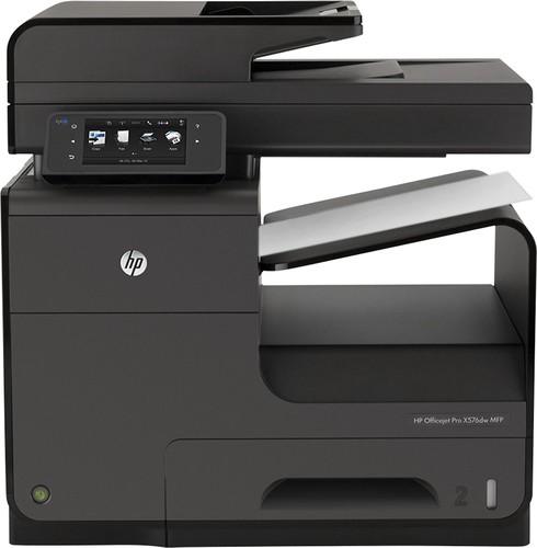 HP - Officejet Pro X576dw Wireless All-In-One Printer - Black