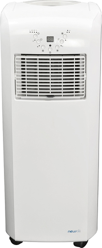 NewAir - 10,000 BTU Portable Air Conditioner and Heater - White