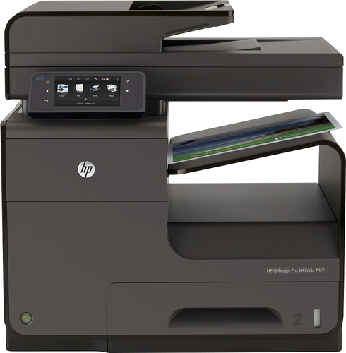 HP - Officejet Pro X476dn All-In-One Printer - Black