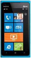Nokia - Lumia 900 Mobile Phone (Unlocked) - Blue