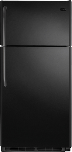 Frigidaire - 18.1 Cu. Ft. Top-Freezer Refrigerator - Black