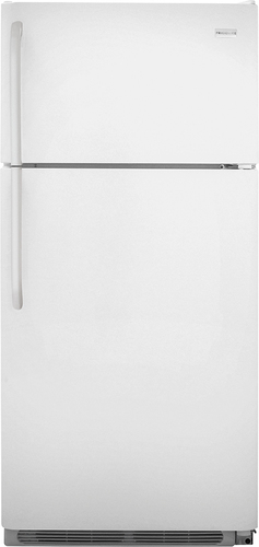 Frigidaire - 18.1 Cu. Ft. Top-Freezer Refrigerator - White