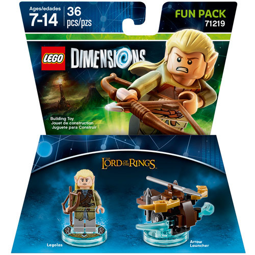 WB Games - Lego Dimensions Fun Pack (The Lord of the Rings: Legolas)