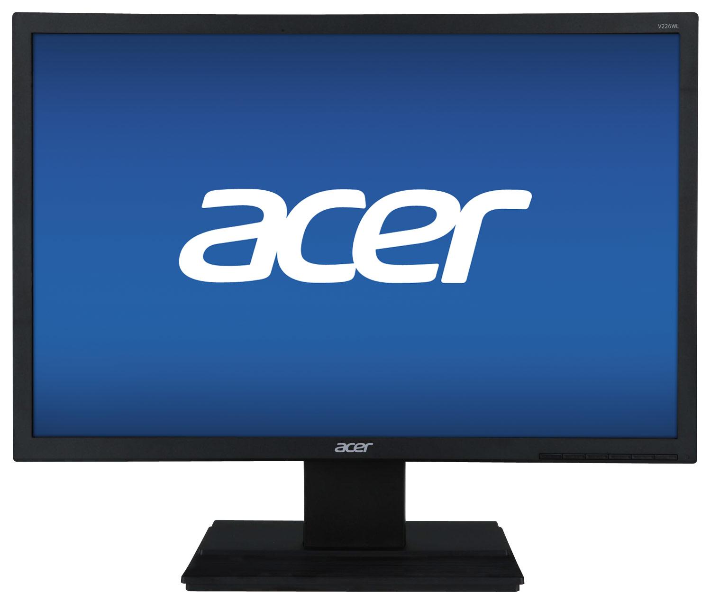 Acer - 22 LED HD Monitor - Black