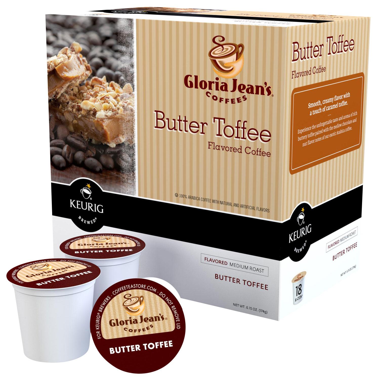 Keurig - Gloria Jean's Butter Toffee K-Cups (108-Pack) - Multi