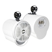Bazooka - 100 W 2-way Speaker - White