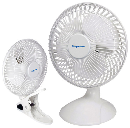 Impress - 6 Dual Purpose Fan - White