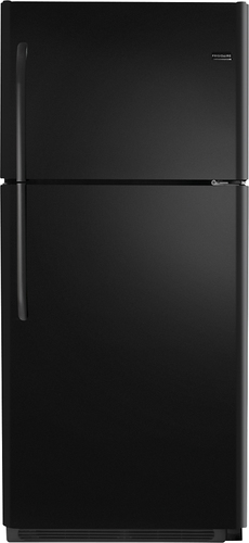 Frigidaire - 20.5 Cu. Ft. Top-Freezer Refrigerator - Black