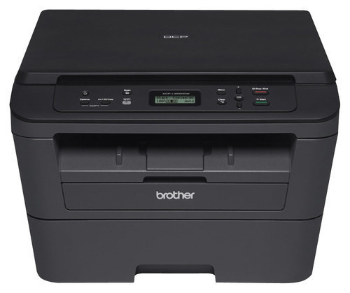 Brother - DCP-L2520DW Wireless Black-and-White All-In-One Printer - Black